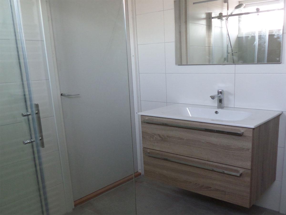 Badkamer verbouwing met dakkapel | S. Loef Timmerwerken