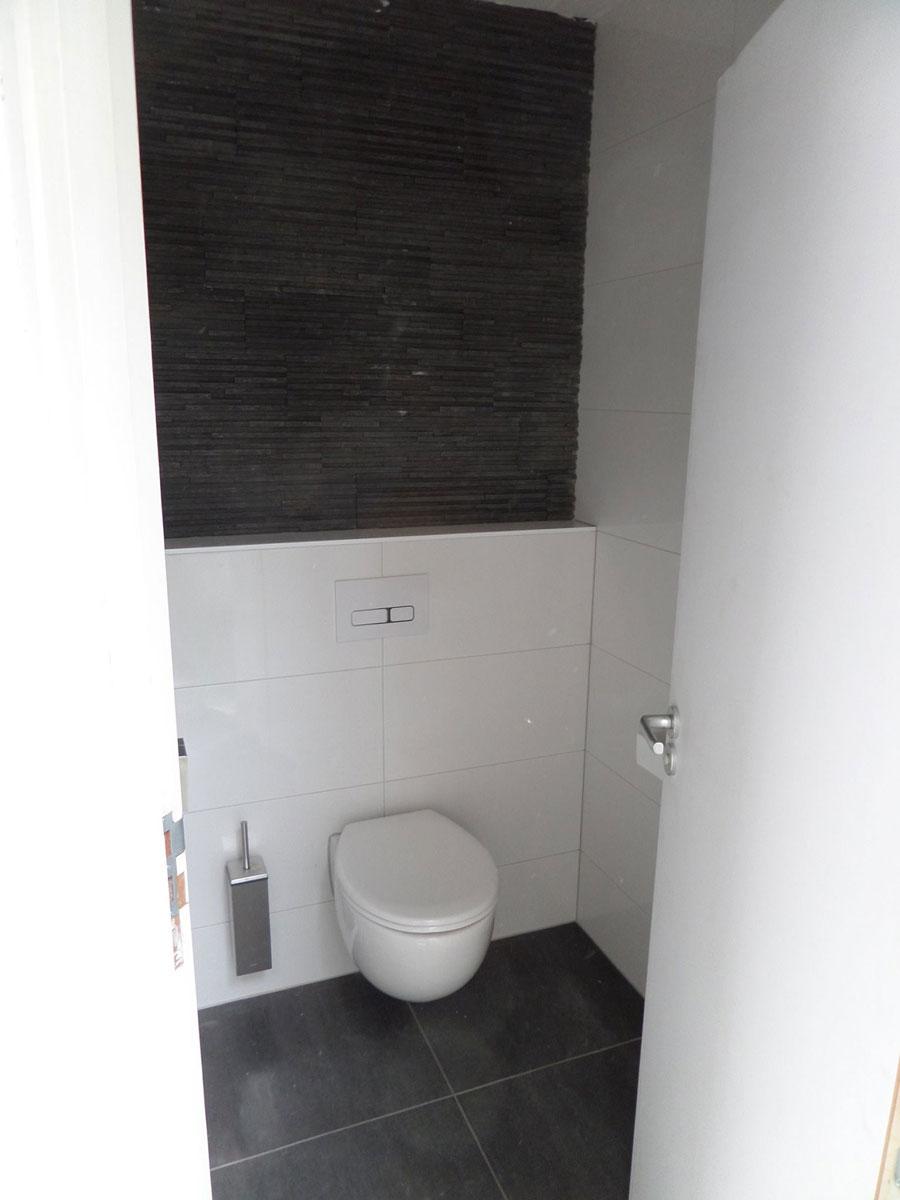 Verbouwing in Boskoop - Resultaat toilet